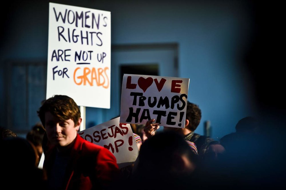 Women's March in Lisbon. PHOTO BY PATRICIA DE MELO MOREIRA/AGENCE FRANCE-PRESSE VIA GETTY IMAGES.