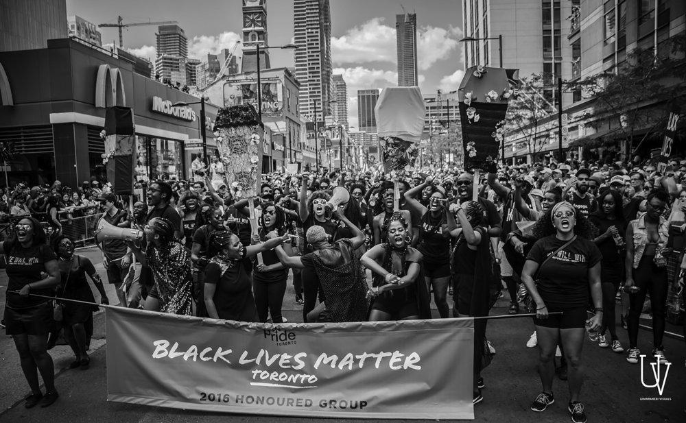 Black Lives Matter Protest. Toronto. /Image:Uranranebi Agbeyegbe