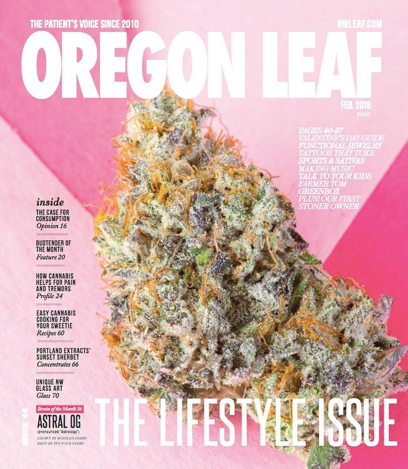 Oregon Leaf - Feb 2018 Issue
