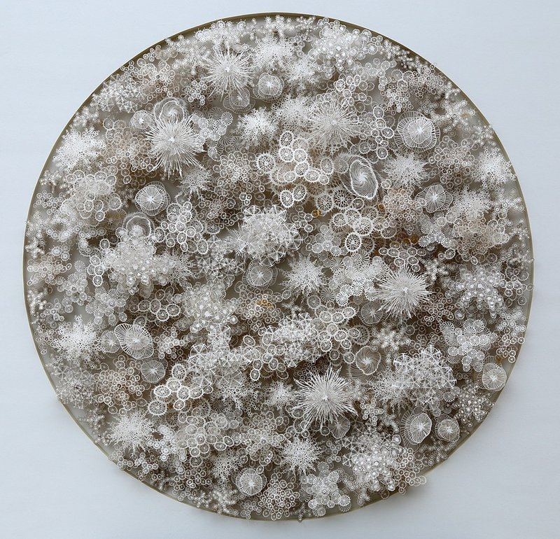 "Via NPR: ""Is This A Snowy Wonderland Or The World Inside A Petri Dish?"" & courtesy of Rogan Brown"