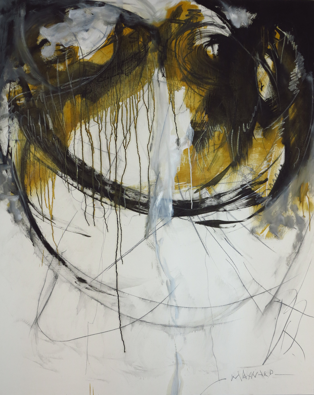 Oil on canvas - size 130 x 160 cm / 51 x 63 inches