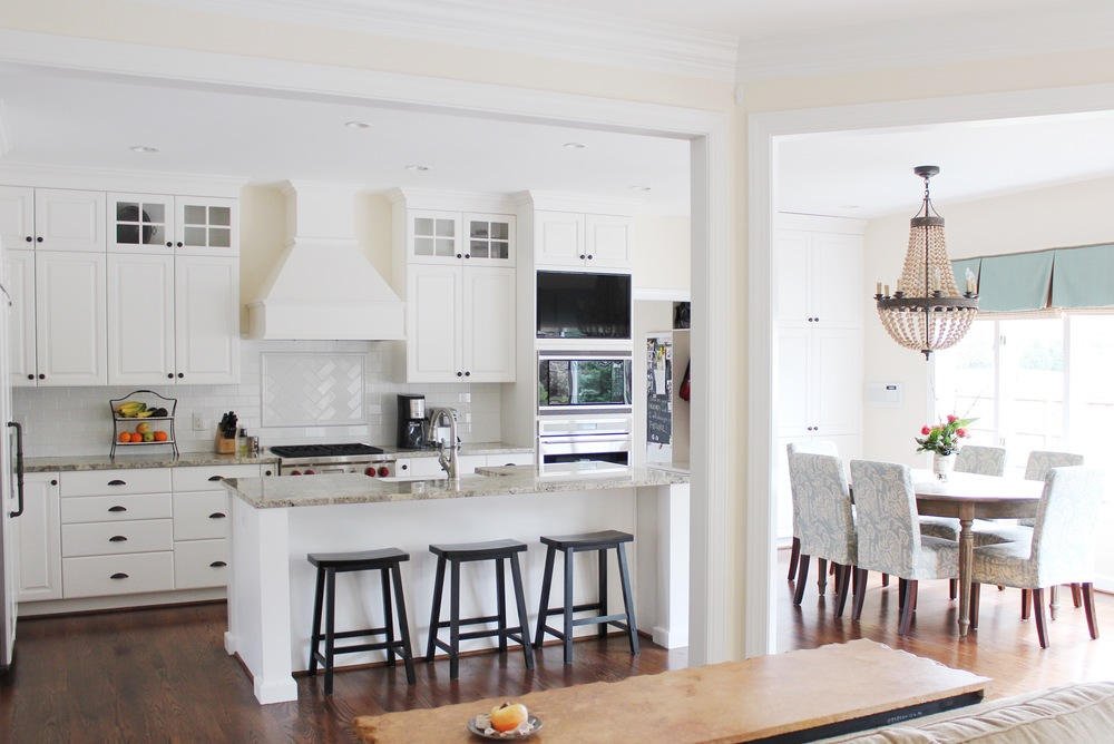 Bright Coastal Virginia Kitchen Remodel