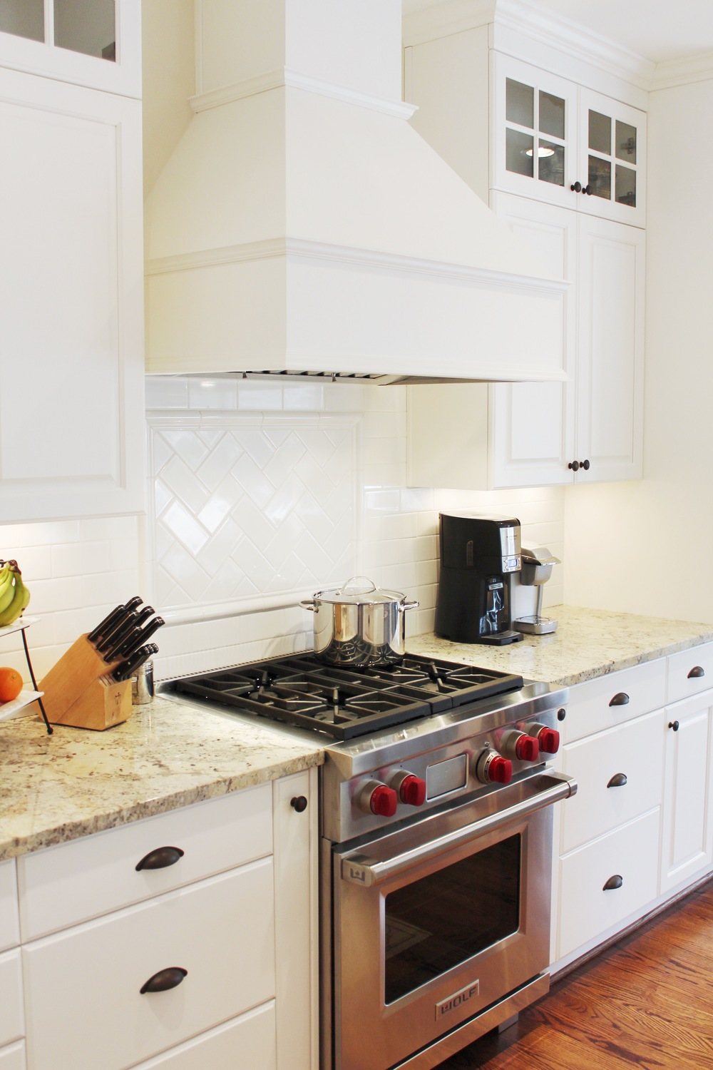 New Stove and Hood Vent for Virginia Beach Kitchen Remodel