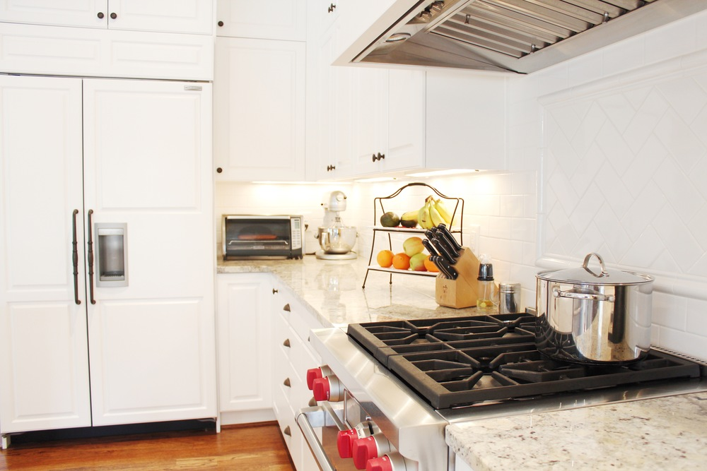 Custom Cabinets   Coastal Virginia Beach Kitchen Remodel