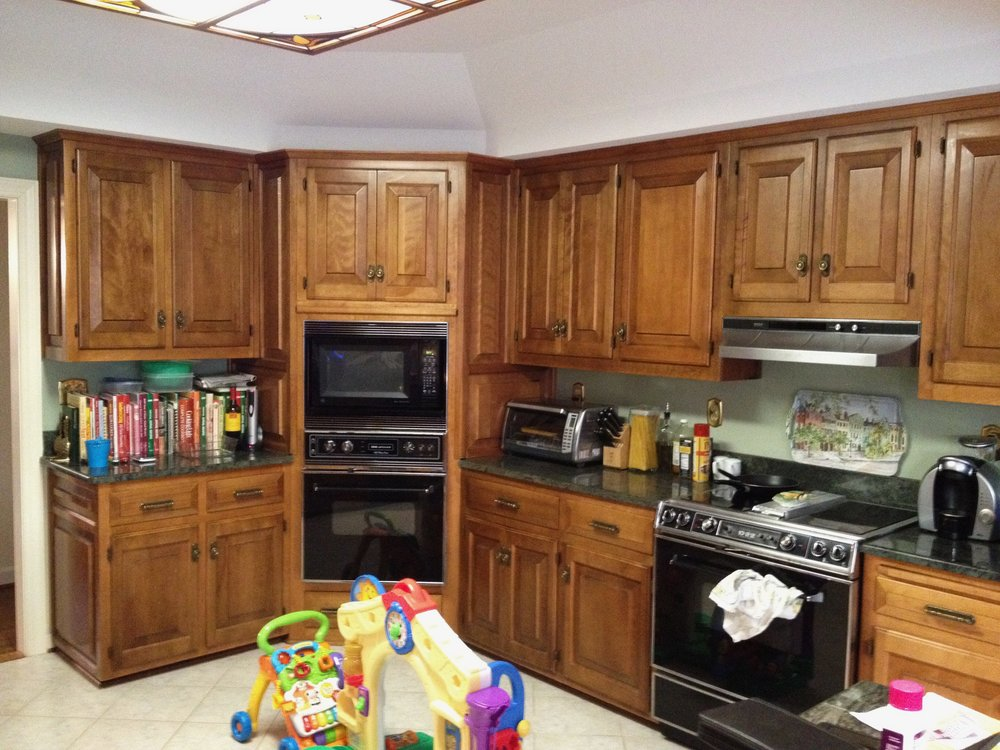 Kitchen Remodel Before Cabinets