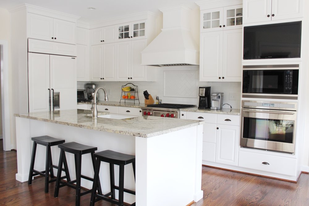 Bright Virginia Beach Kitchen Remodel Island and Custom Cabinets.jpg