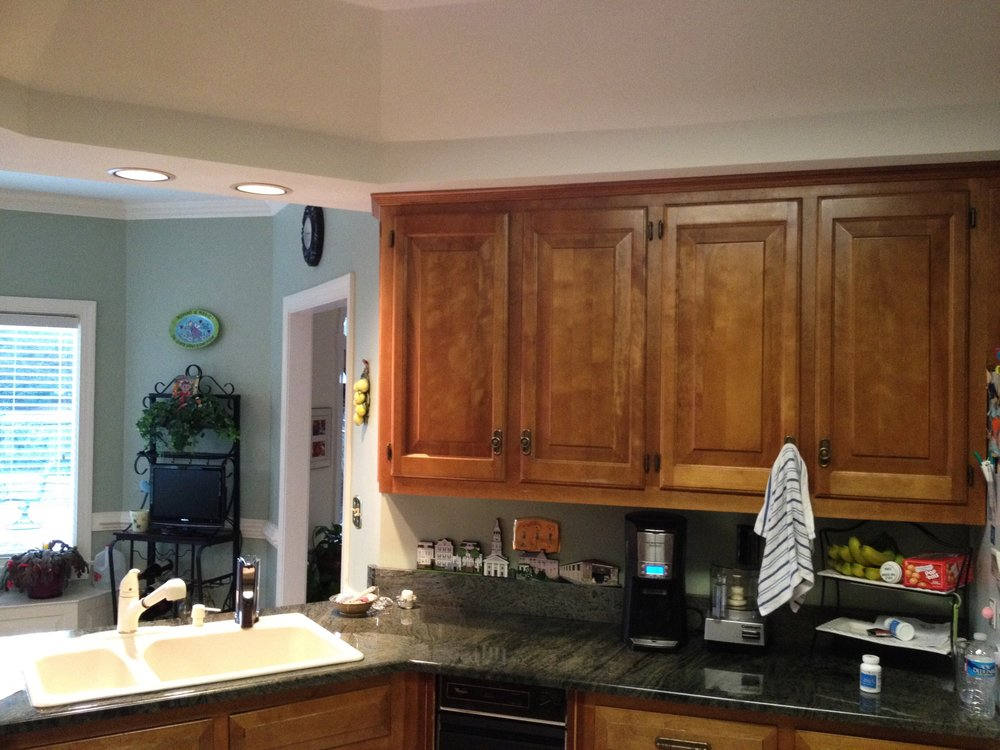 Kitchen Remodel Before Counter