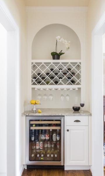 Benson Homes Wine Bar Full Frame