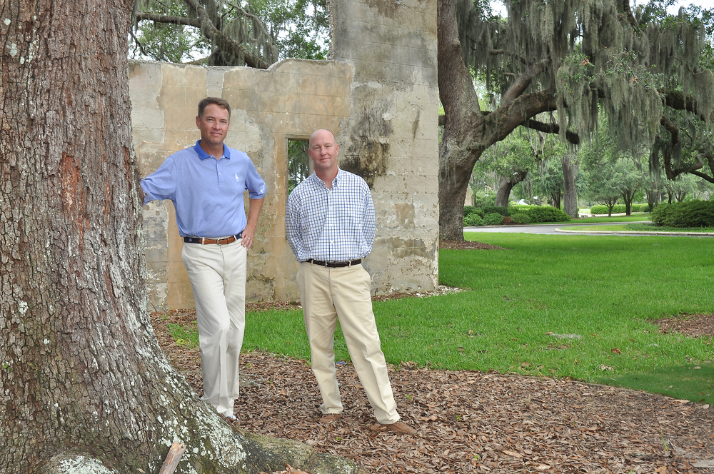 Mark and Davis Love III, of Love Golf Design.