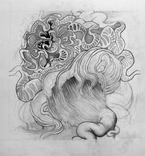 Flow (preliminary drawing)