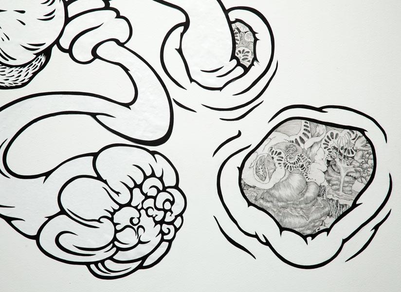 Sprung (detail)