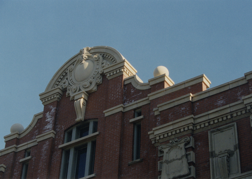Parapet above main entrance after restoration.jpg