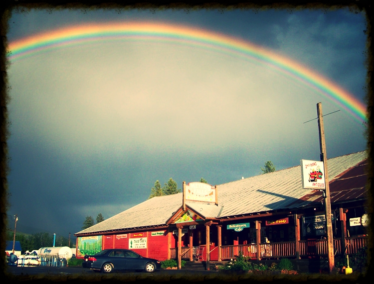 Somewhere under the rainbow, you'll find Meyers Falls Market!