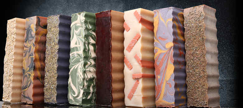 We have bulk soap available by the pound! Just slice off the size bar you'd like.