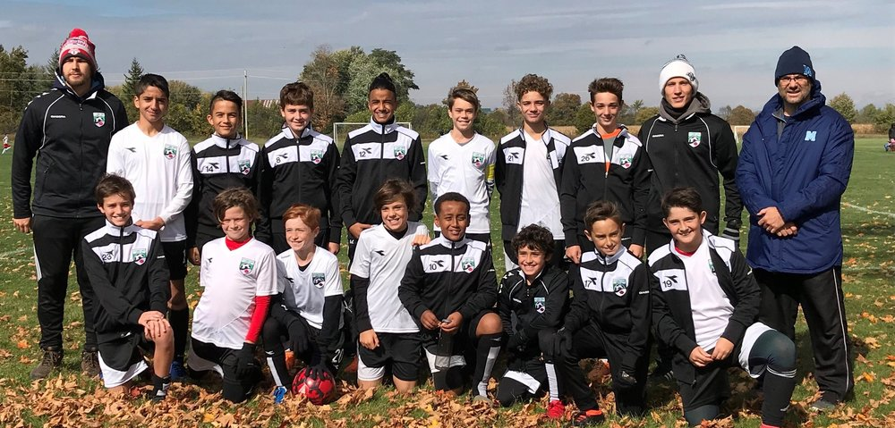 October 2018. Congratulations to our Boys U13 (born in 2006) Green Team at the CSL qualifying tournament who won both their matches and qualified for Summer 2019. Keep up the good work.