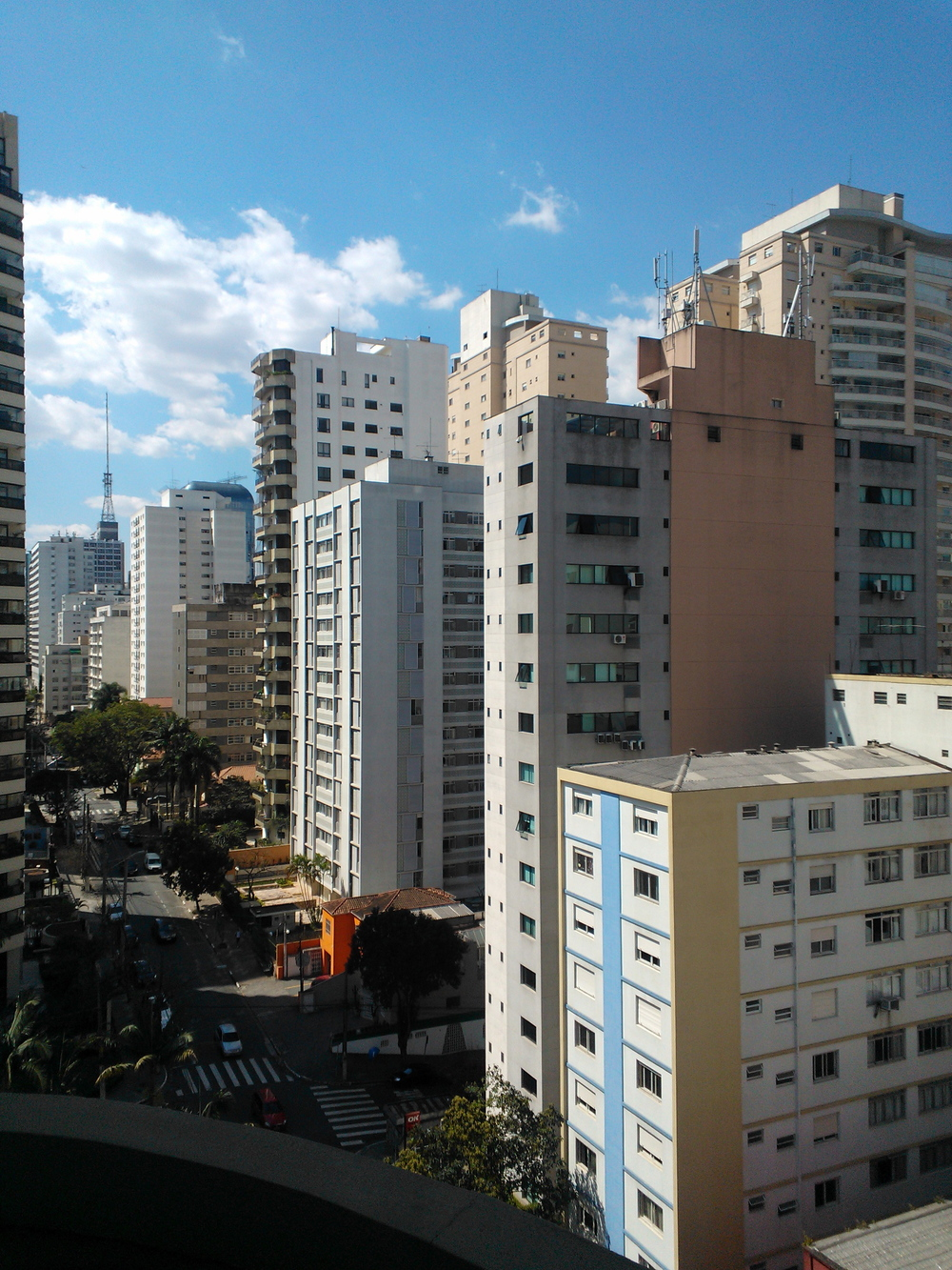 This is the street I grew up in São Paulo