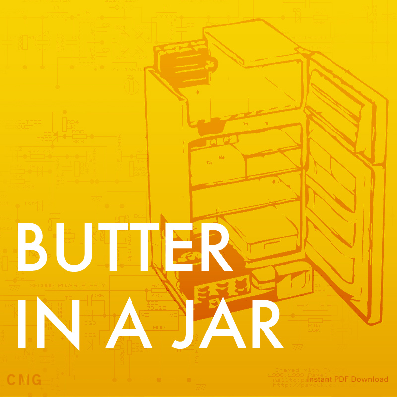 Snack Lesson: Butter In A Jar: Recipes to Feed The Soul - Download