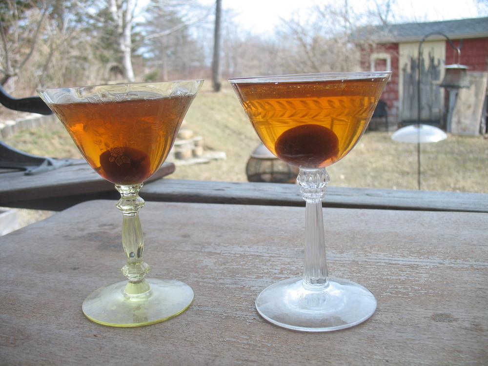 Brooklyns - Dickel is on the left but they look pretty much the same.