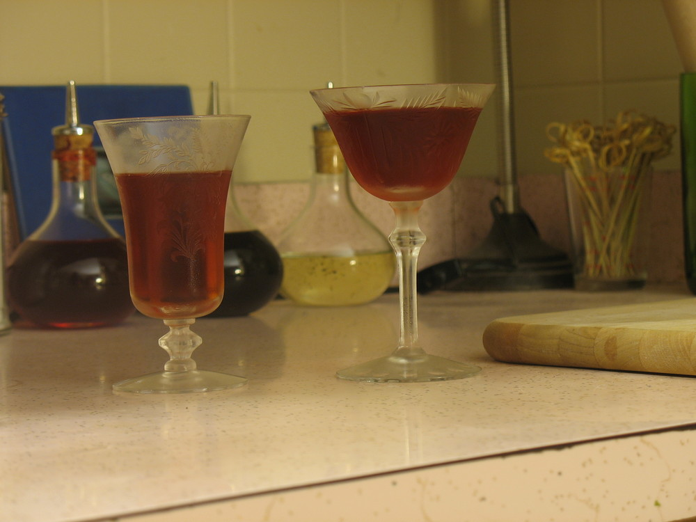 Sheldon Streets - Small glasses are nice for splitting drinks which is not a bad thing when you're trying to taste a few