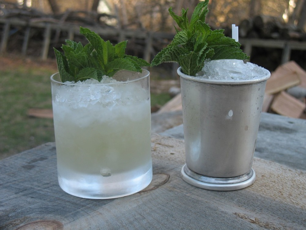 Genever Smash and Prescription Julep