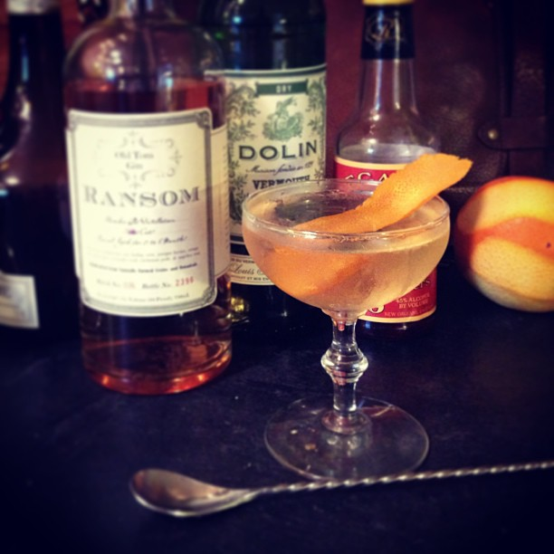 The Ford Cocktail featuring Old Tom Gin