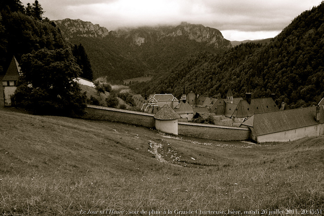 Grande Chartreuse Monastery. Photo by Renauld Camus, Creative Commons