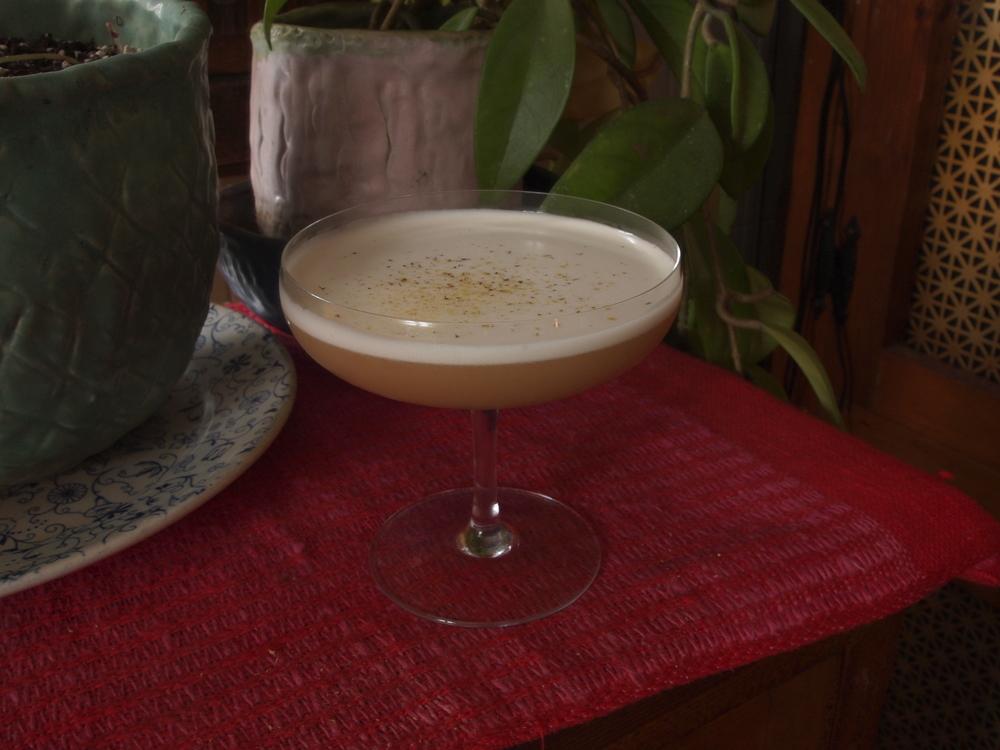 Licorice Whiskey Sour