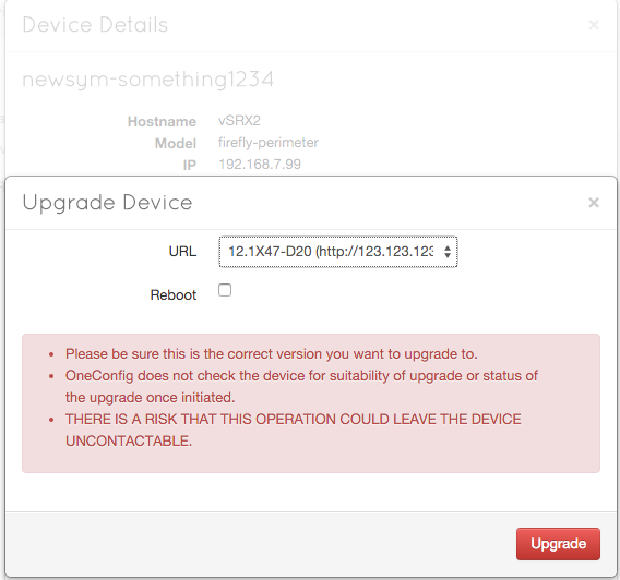 Tell your device to upgrade from the file location on your file server