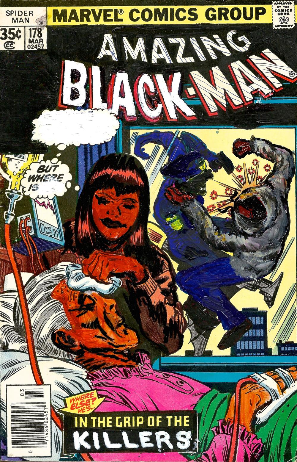 The Amazing Black-Man #178