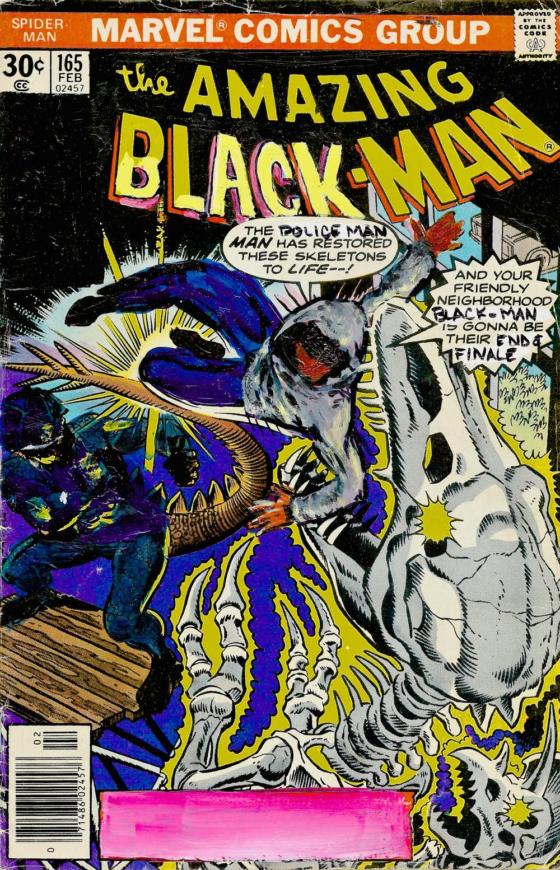 The Amazing Black-Man #165