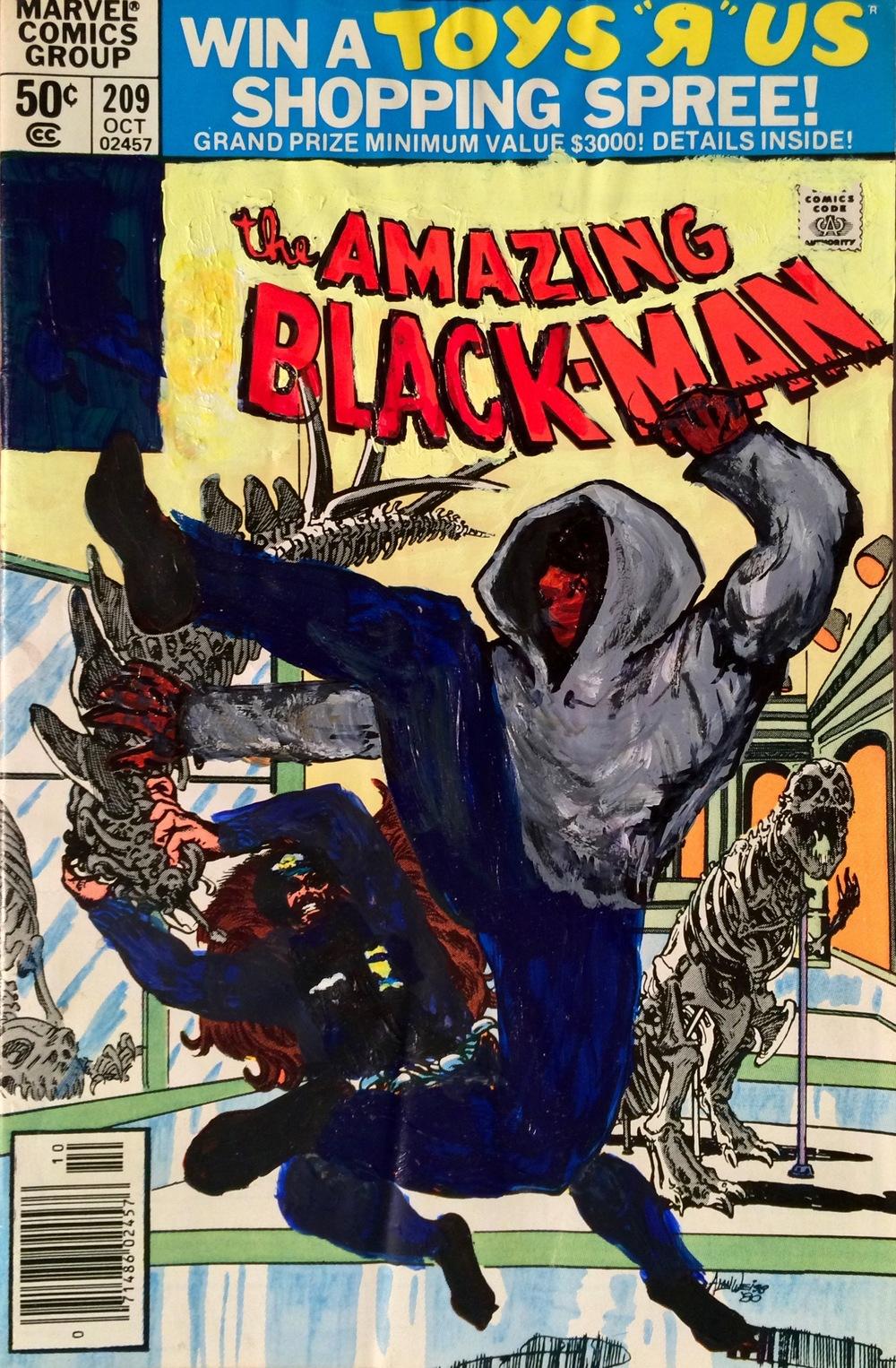 The Amazing Black-Man #209