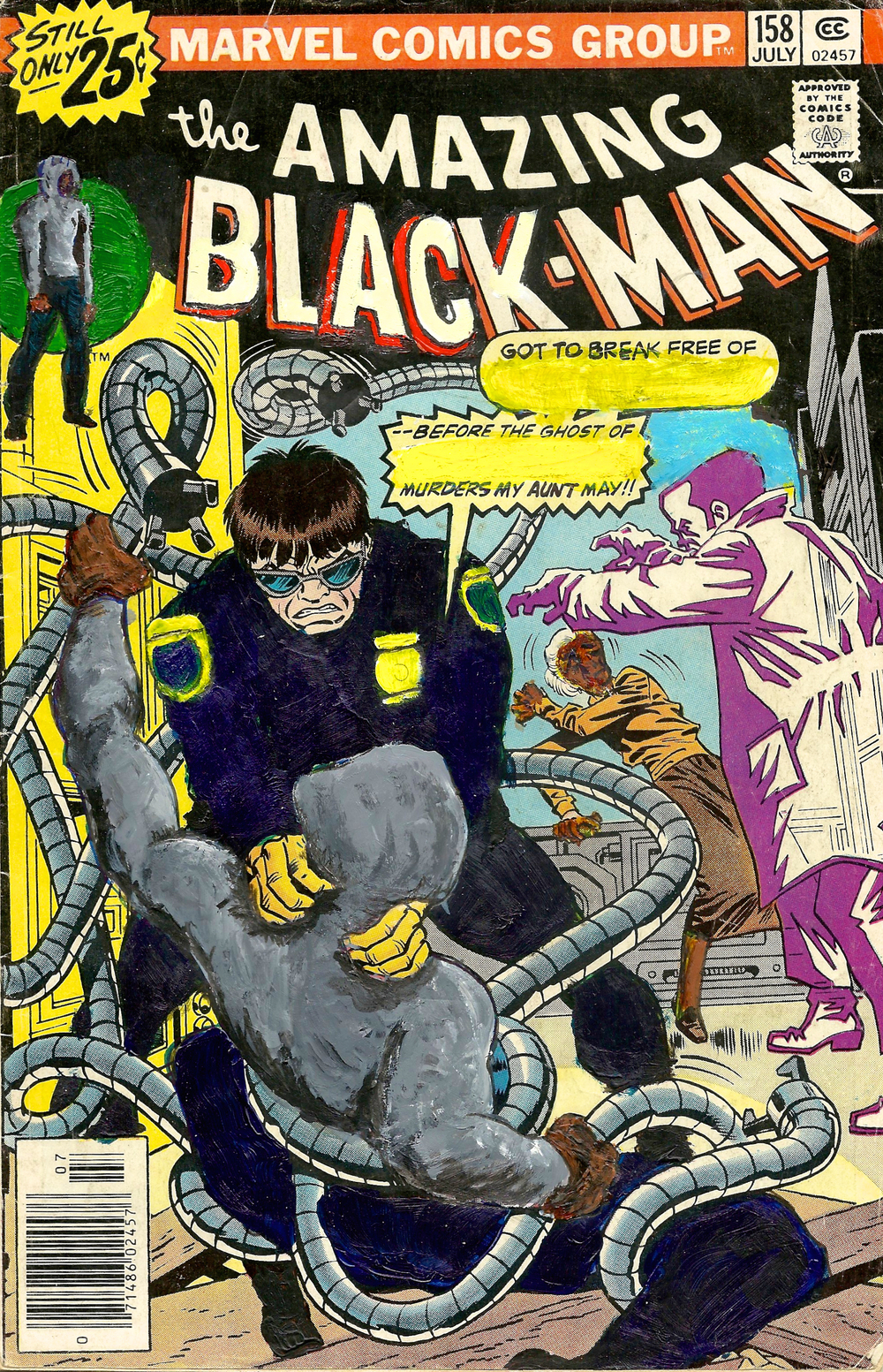 The Amazing Black-Man #158