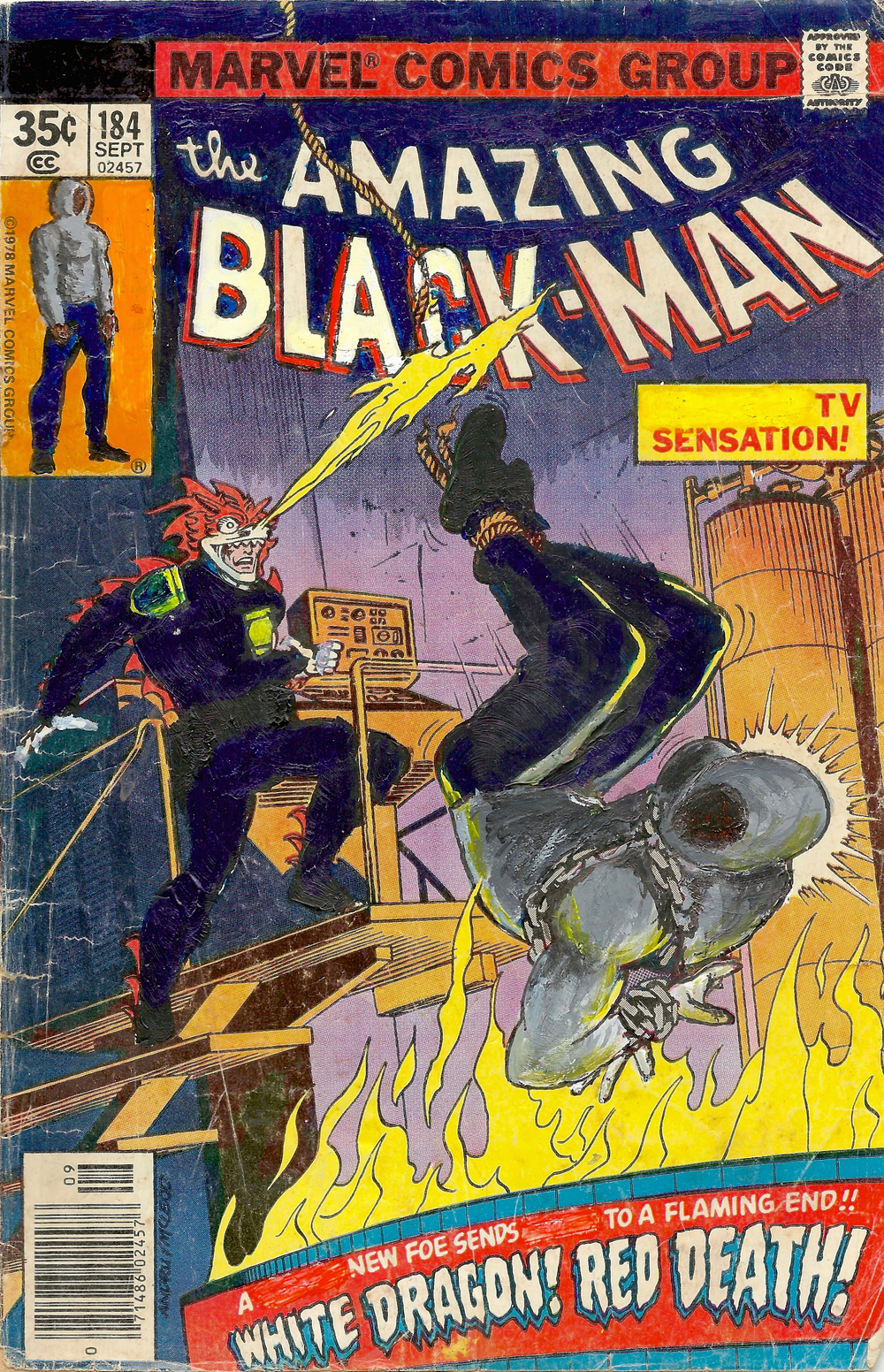 The Amazing Black-Man #184