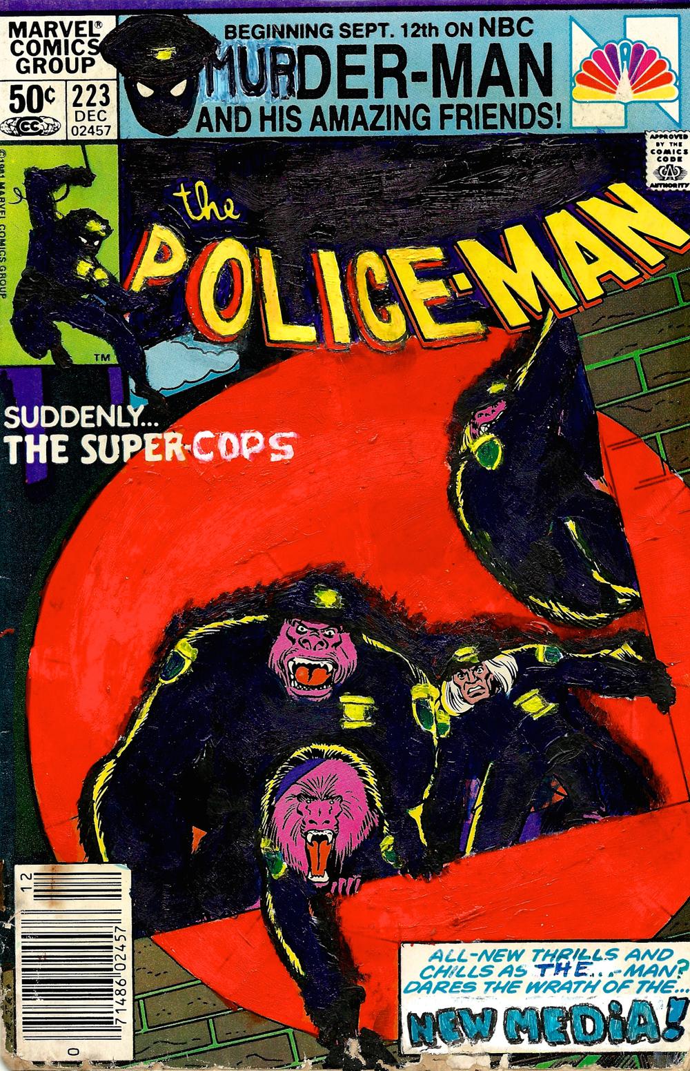 Police-Man  #223