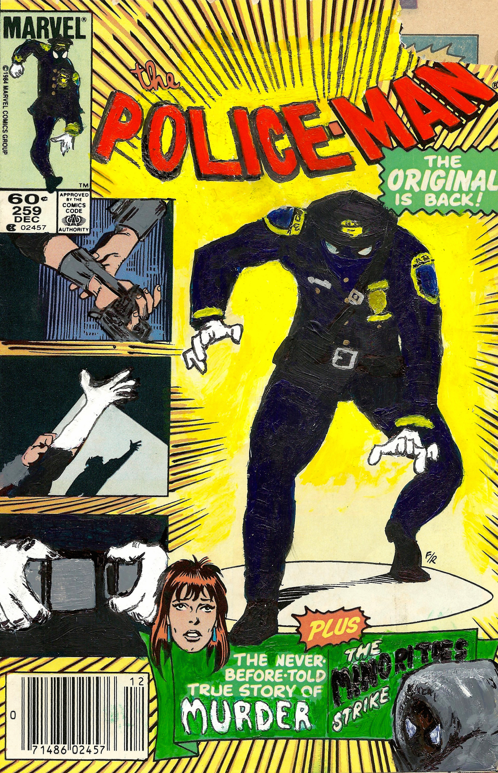 Police-Man #259