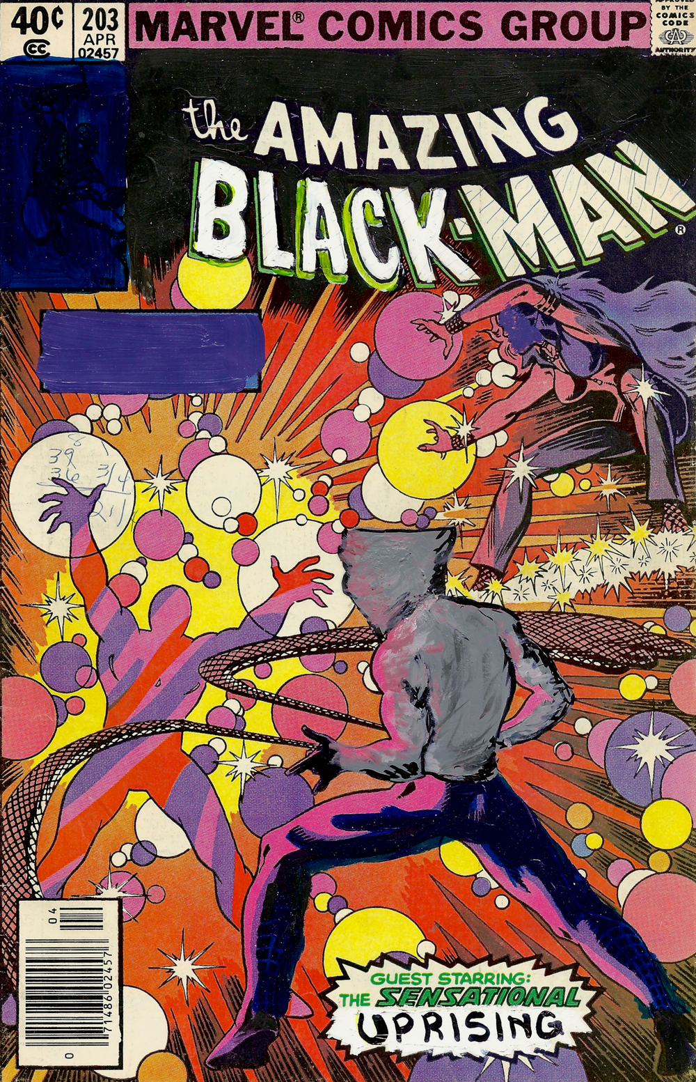 The Amazing Black-Man #203