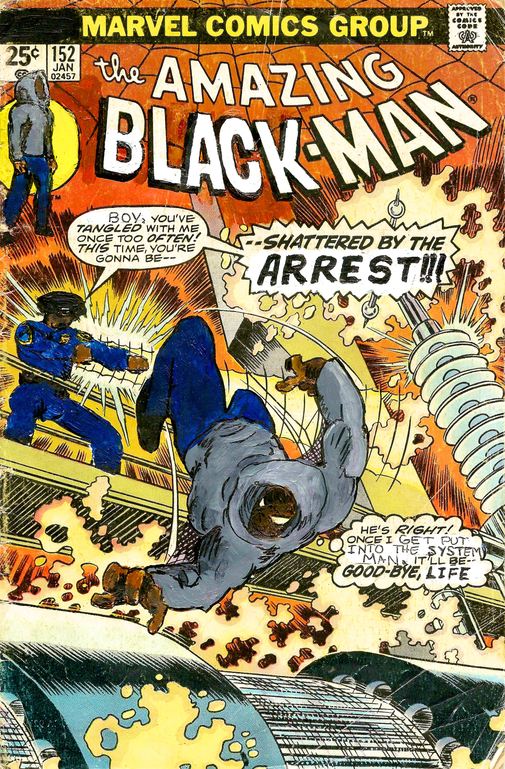 The Amazing Black-Man #152