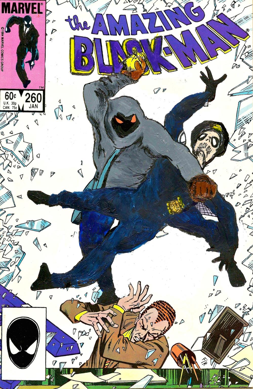 The Amazing Black-Man #260
