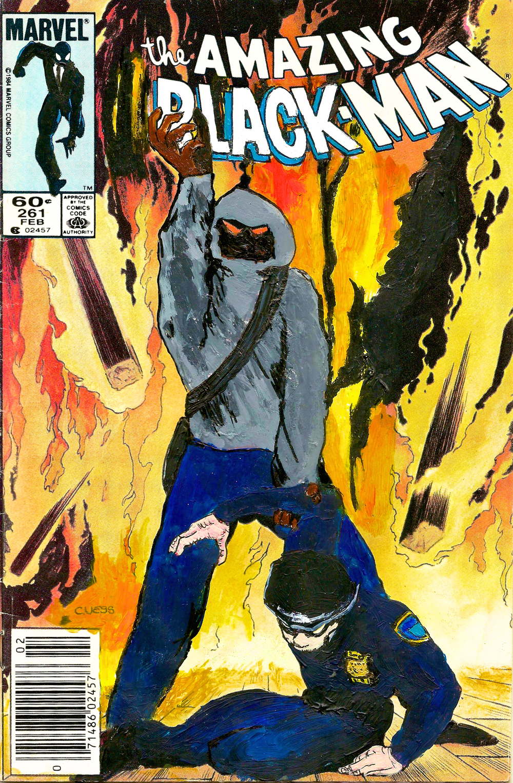 The Amazing Black-Man #261