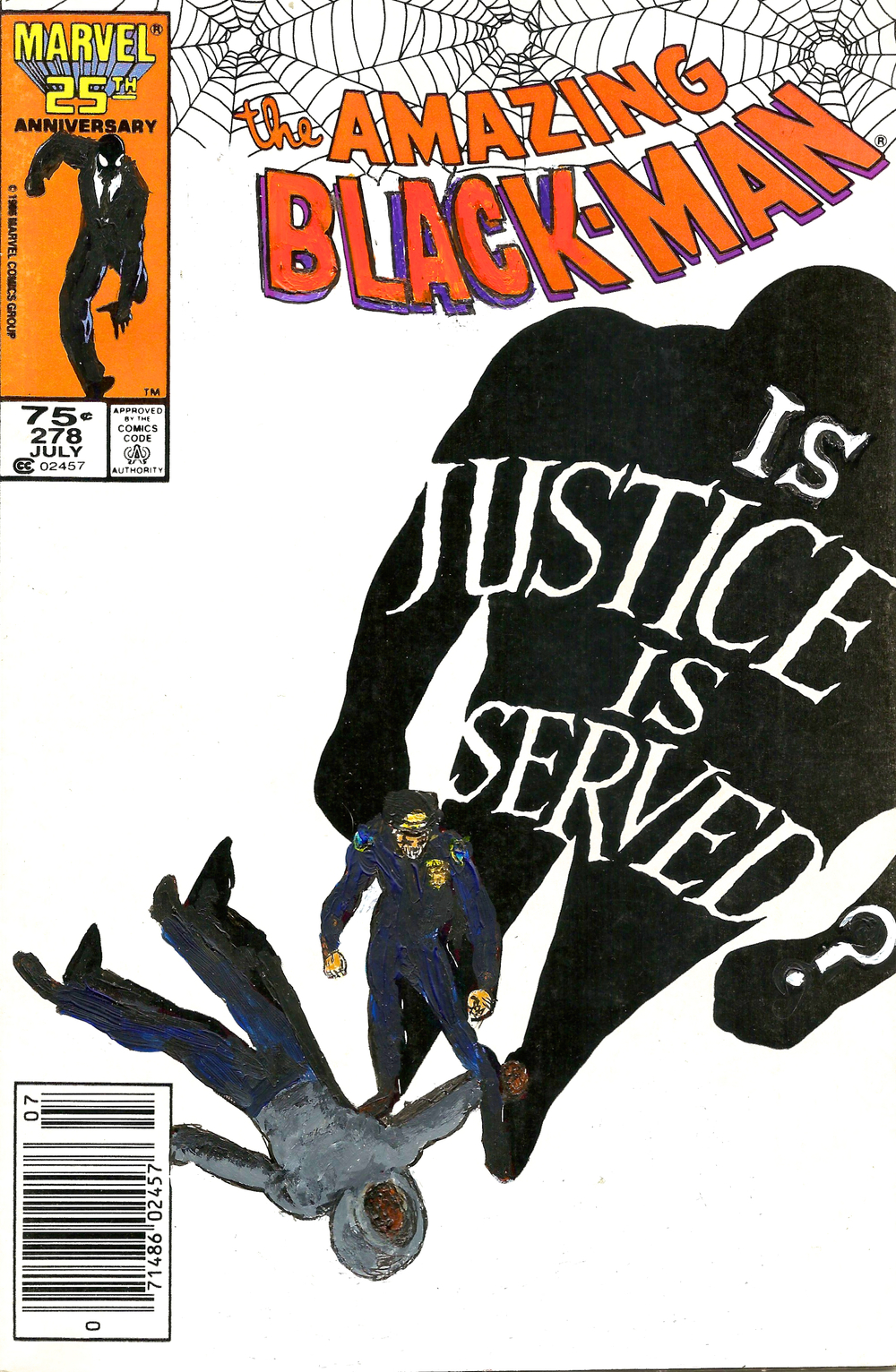 The Amazing Black-Man #278