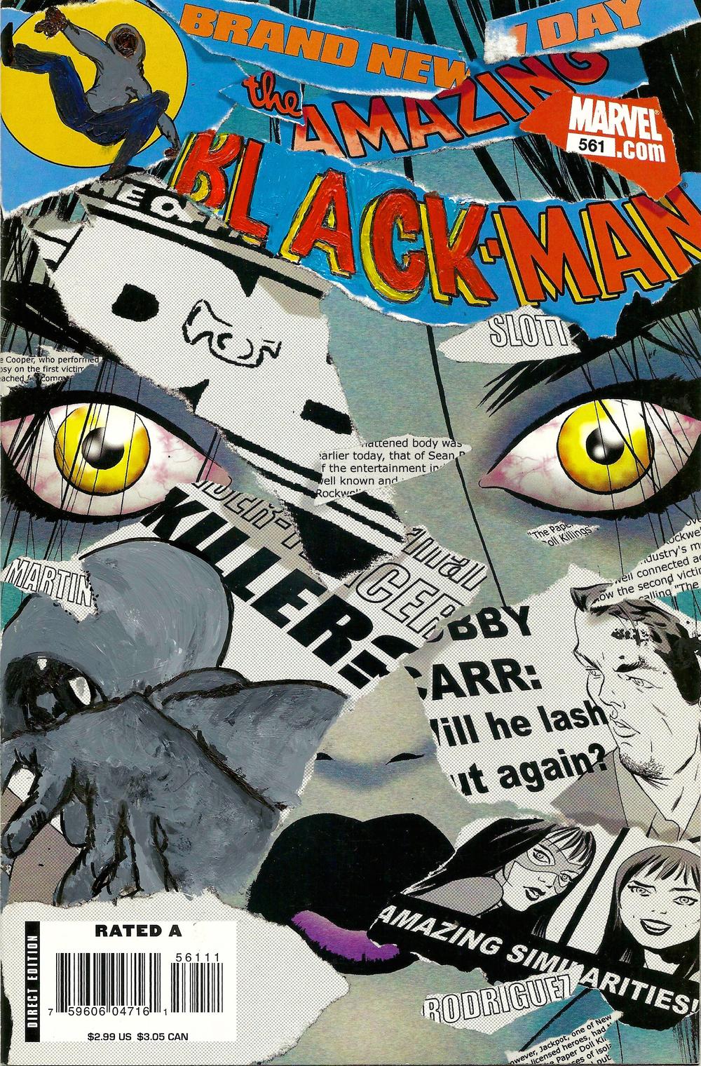 The Amazing Black-Man #561