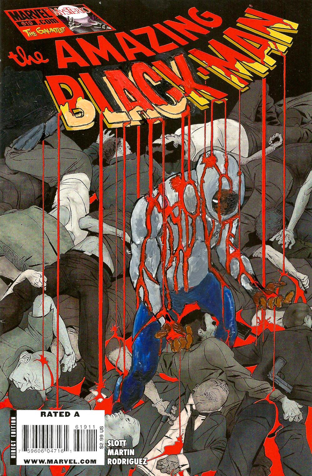 The Amazing Black-Man #619
