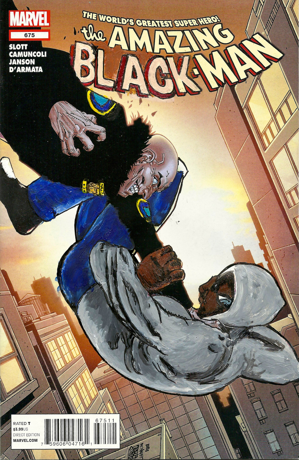 The Amazing Black-Man #675
