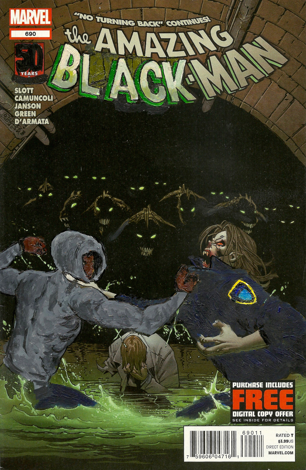 The Amazing Black-Man #690