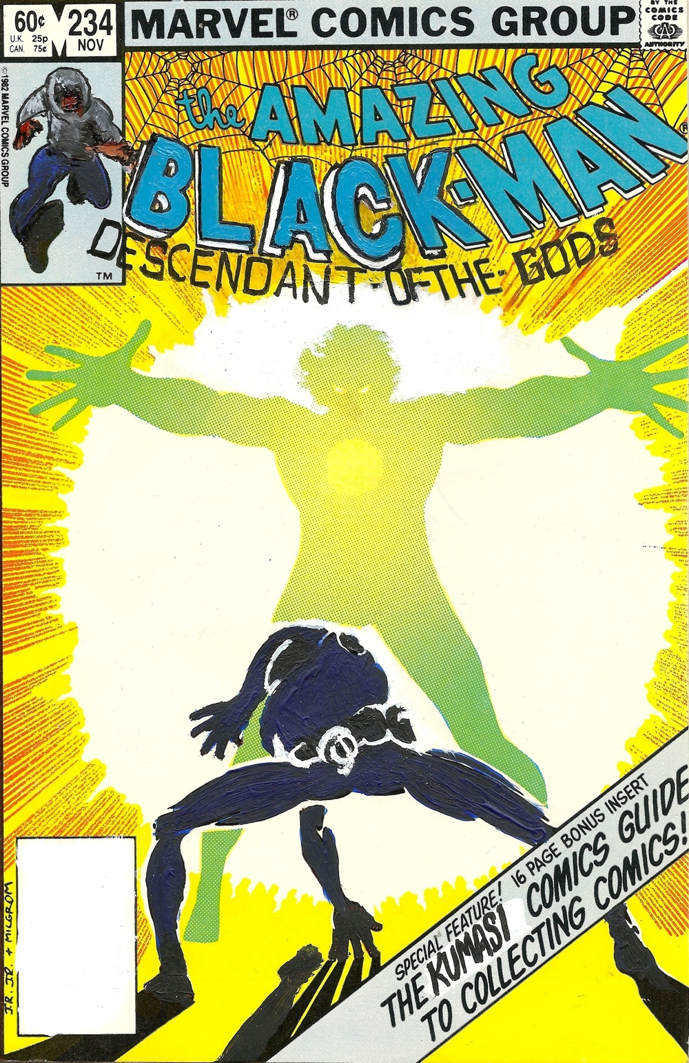 The Amazing Black-Man #234