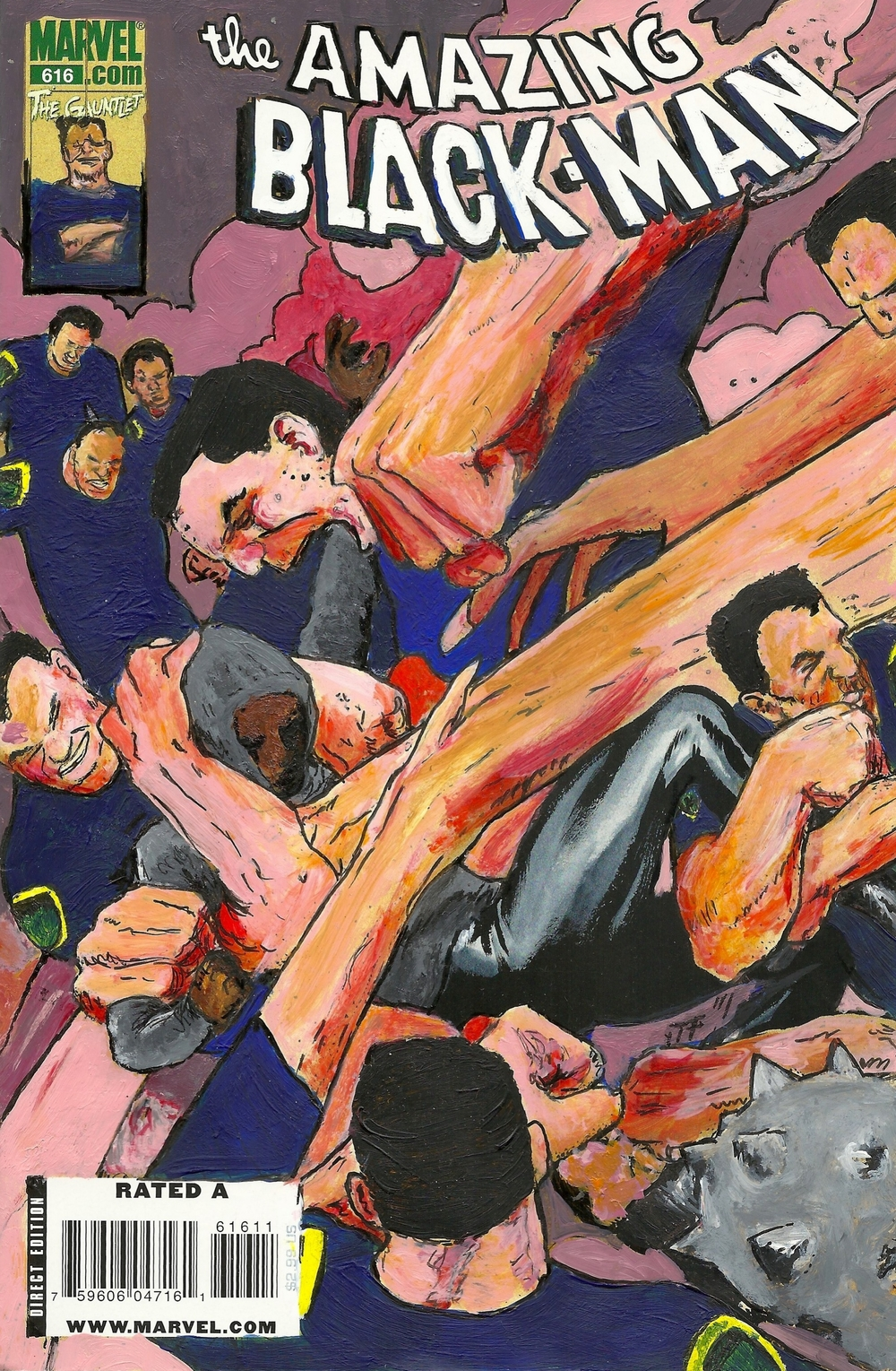 The Amazing Black-Man #616