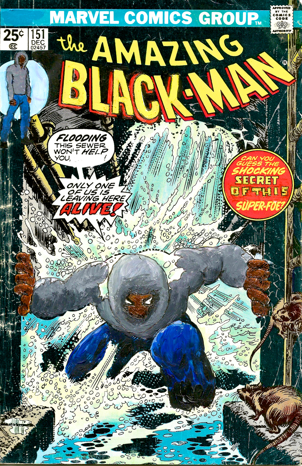 The Amazing Black-Man #151