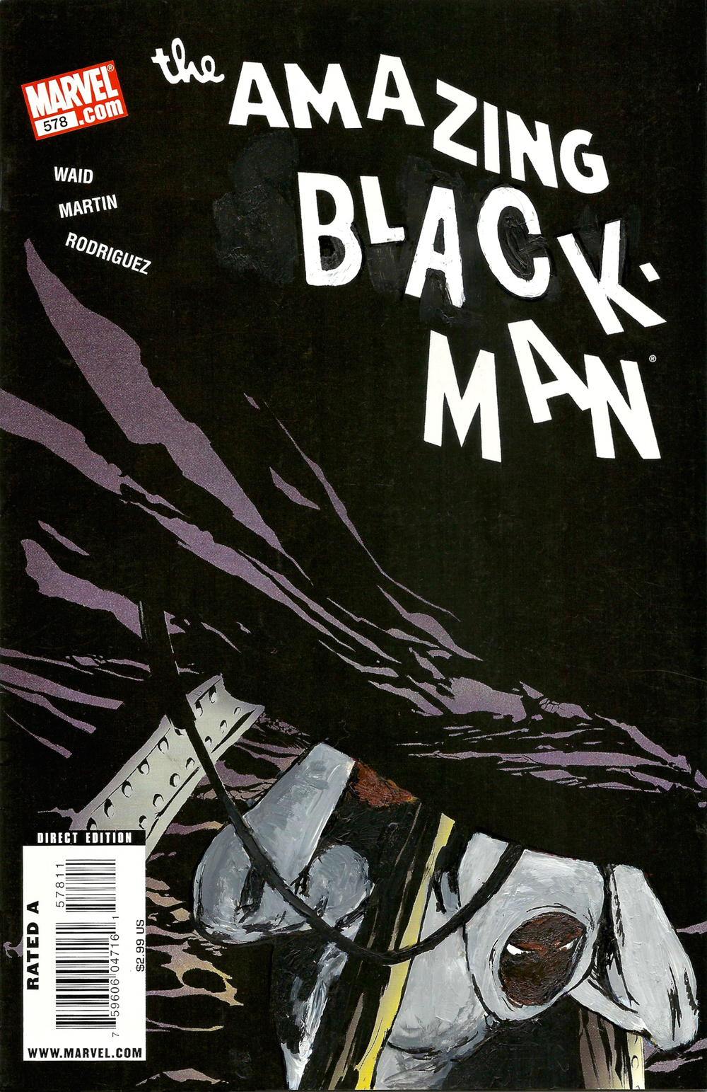 The Amazing Black-Man #578