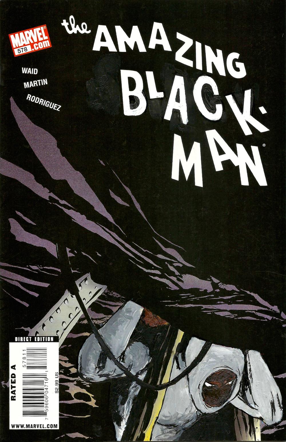 The Amazing Black-Man #578