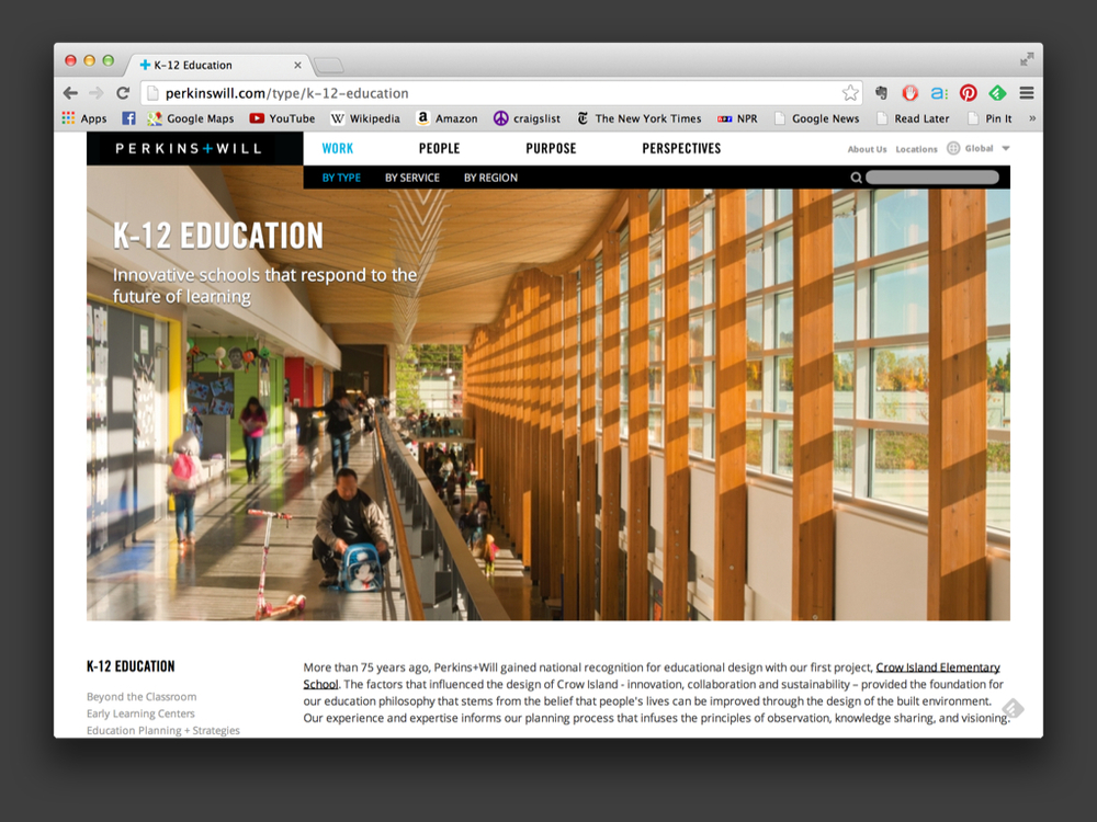 Perkins+Will Website
